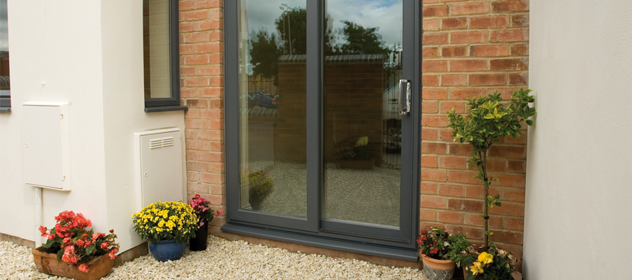 Why choose in-line patio doors? & Inline sliding UPVC patio doors - Victoria Windows and Doors